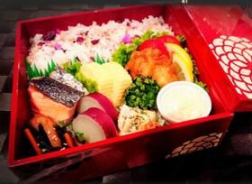 重箱で一段重のお弁当☆運動会・行楽にも♪