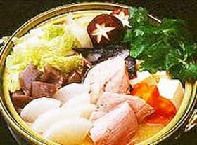 アツアツ♡石狩鍋~鮭と野菜で