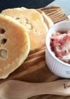 マカダミアパンケーキ&クリームチーズ