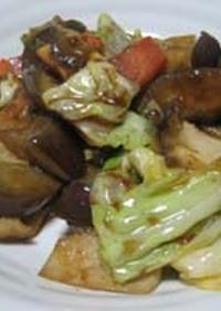回鍋肉風野菜炒め~肉なし~