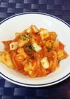 高野豆腐のとろりんトマトチーズ煮込み
