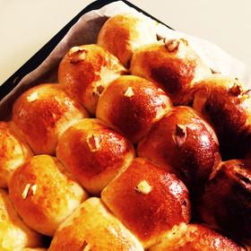 HB♡しっとり甘〜い♪くるみちぎりパン☆