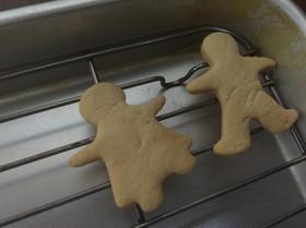 家にある材料でクッキー