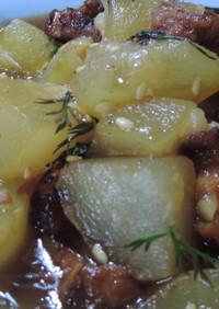 仙台麩と冬瓜のうま煮