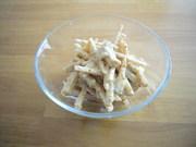 ヤーコンのマヨ味噌ゴマ和えの写真