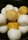 ♪団子♪豆腐とおから