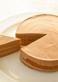 大人のモカ&チョコケーキ