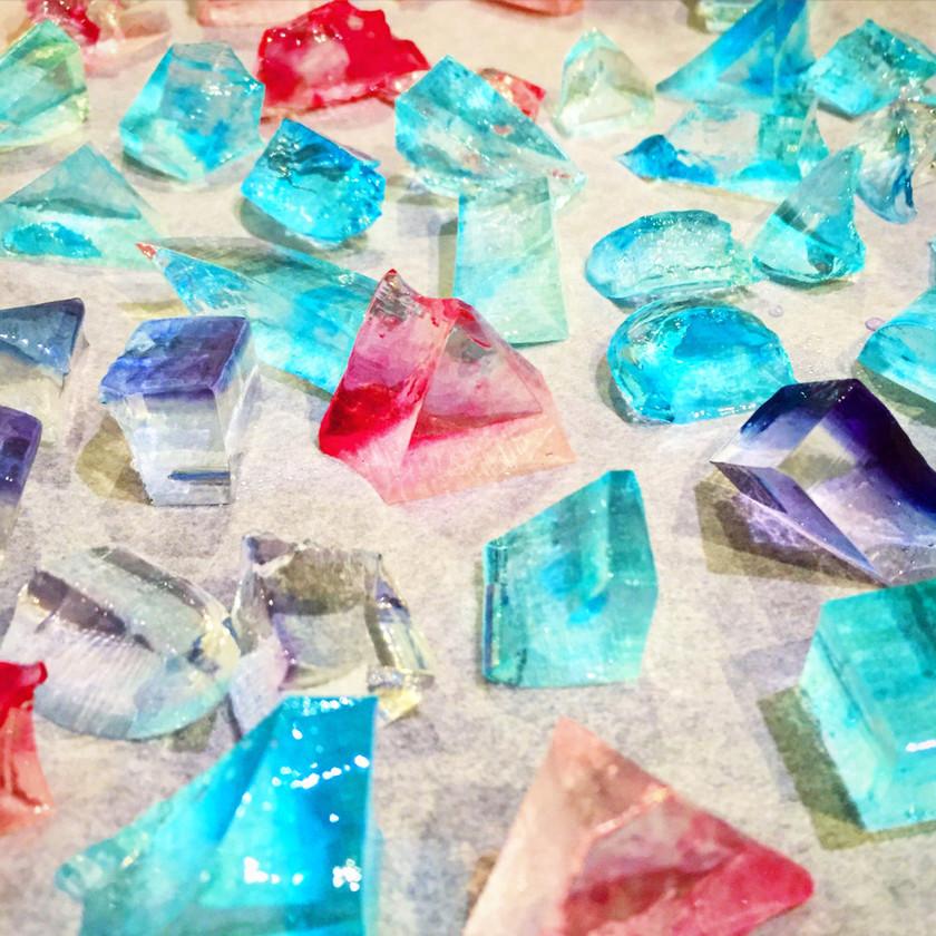 絶品 簡単 食べられる宝石 琥珀糖