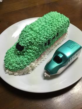 簡単 立体ケーキ 新幹線《記録》