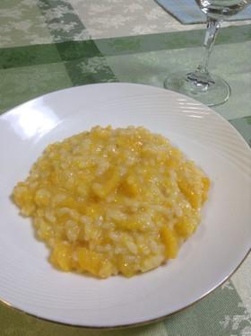 カボチャのチーズリゾット