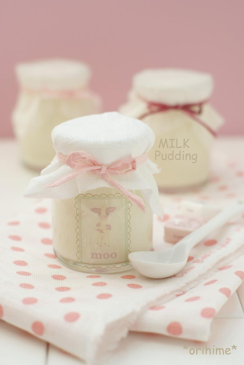 ✿昔ながらの牛乳プリン✿