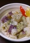 Actifry☆サツマイモのパスタサラダ