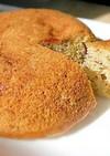 ホットケーキmix と柿で炊飯器パウンド