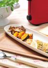 〈10月〉秋鮭パン粉焼豆腐タルタルソース