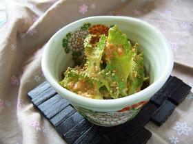 四角豆(インゲン)の胡麻マヨ和え☆