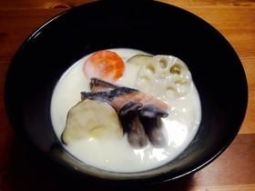 鮭と野菜のヘルシーシチュー