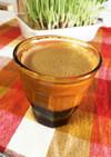 お豆腐で脂質0♡2層のコーヒーババロア