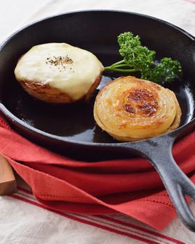 バター好きの♪新玉ねぎの肉巻きステーキ