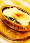 イワシの味噌煮缶とネギチーズ