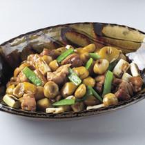 栗と鶏の煮物
