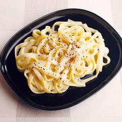 豆乳カルボナーラ