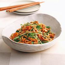 板麩と水菜のボリュームサラダ
