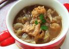 鶏モモ肉のスープ☆バルサミコ風味!