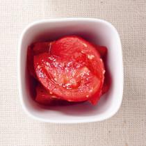 トマトの梅味噌サラダ