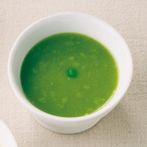 グリンピースポタージュスープ