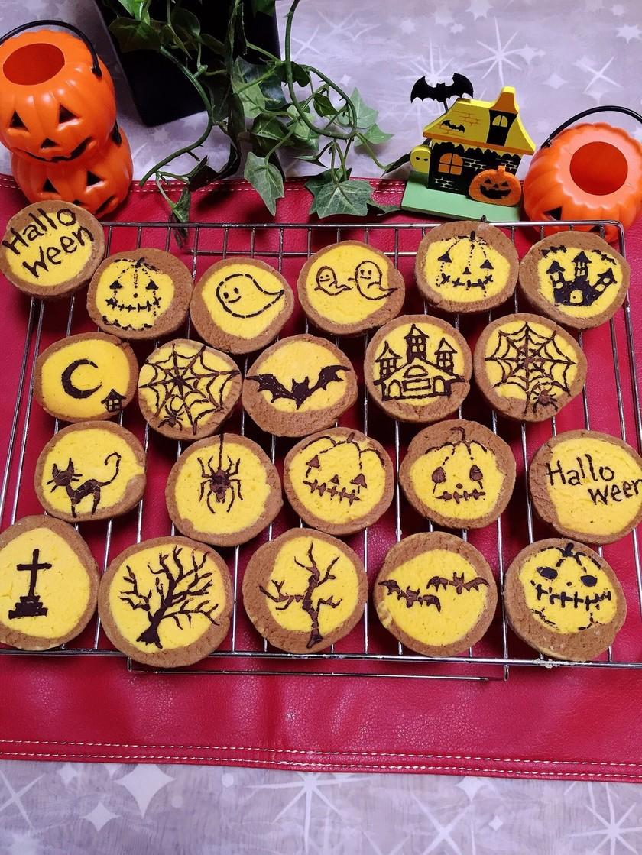 ハロウィン♡簡単カボチャクッキー