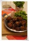 焼肉タレの中華肉団子
