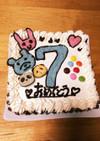 市販品だけ☆バースデーアイスケーキ