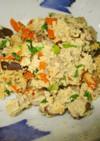 椎茸たっぷり粉豆腐の炒り煮