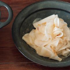 大根の甘酢サラダ