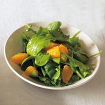 ルッコラとオレンジのサラダ