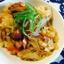 簡単★鶏ごぼう 炊き込みご飯