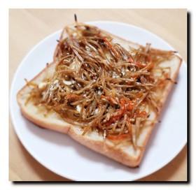 おかずパン♡きんぴらマヨトースト♡