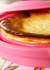 水切ヨーグルトでチーズ風ヘルシーケーキ