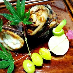 秋刀魚のワタ焼き