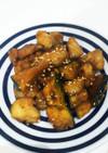 鶏肉とかぼちゃの甘辛炒め