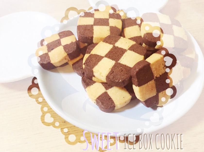 簡単★市松模様 アイスボックスクッキー