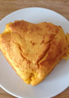 バターナッツ南瓜のハートパウンドケーキ