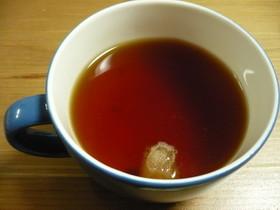 ぐーたらな生姜紅茶