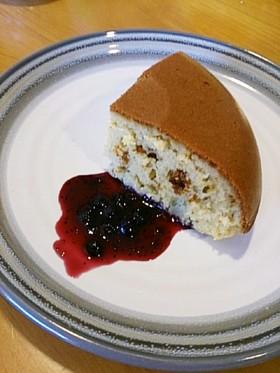 ソイッシュ&ソイジョイでHM超簡単ケーキ