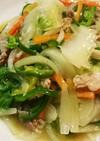 いつもの中華風野菜炒め