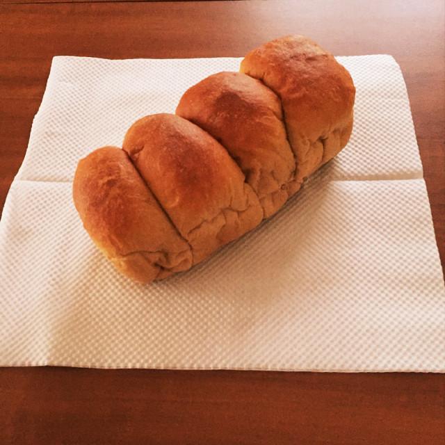 簡単♪ふすま(ブラン)パンでちぎりパン☆