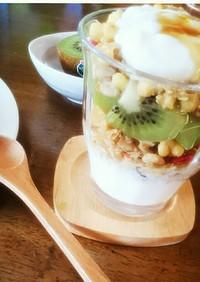 ダイエットに腹持ちOK★ヨーグルト*朝食