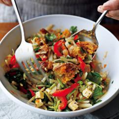 シャキシャキポテトのラペ風サラダ