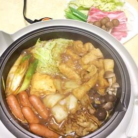 カレールーで作る☆簡単カレー鍋