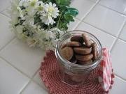 プチドロップクッキー ココアの写真